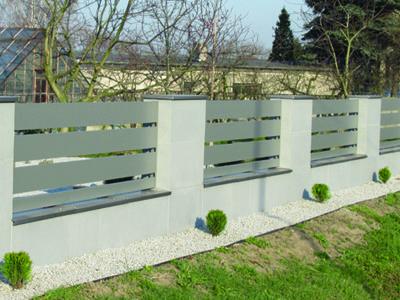 Ogrodzenia <br/>aluminiowe