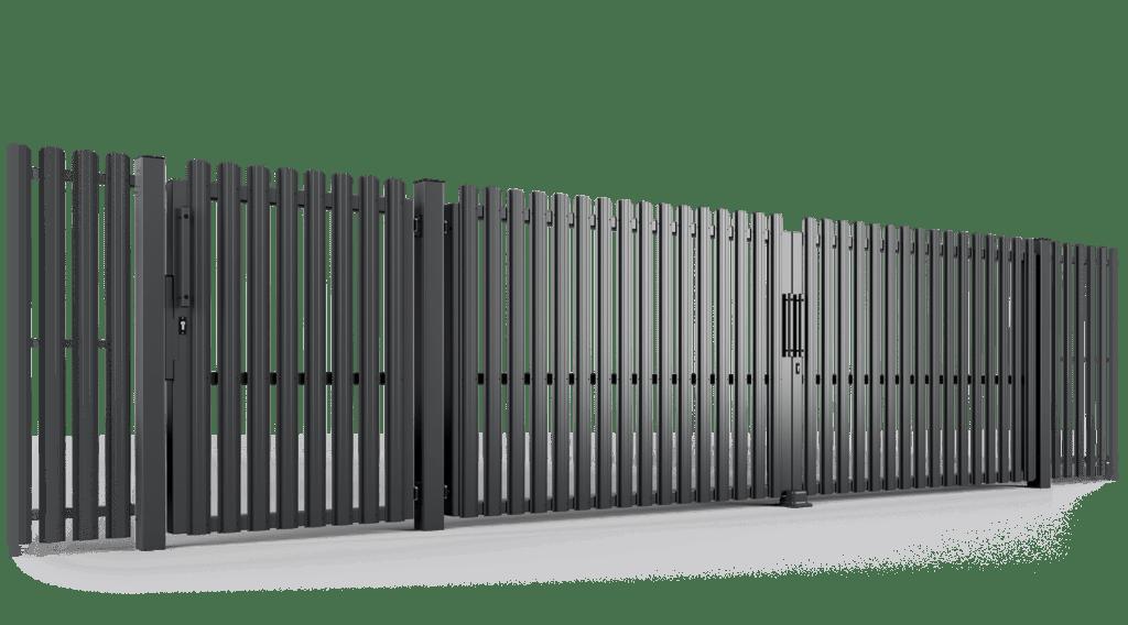 brama uchylna